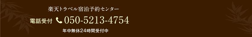 電話受付 050-5213-4754