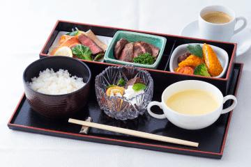 Western-style gozen meal