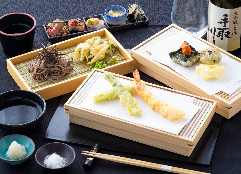 天ぷらミニコース