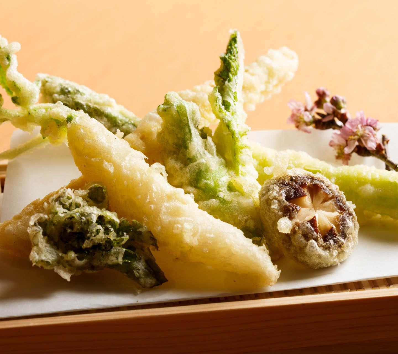 天ぷらフルコース