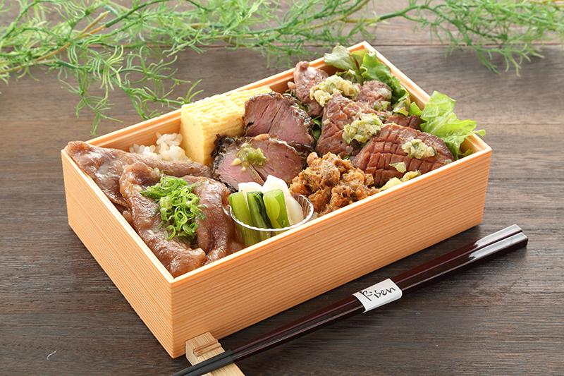 「神戸牛食べ比べ重」