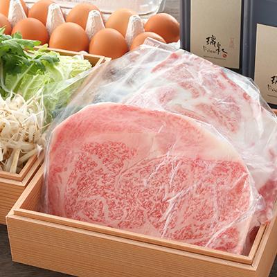 神戸牛のすき焼き